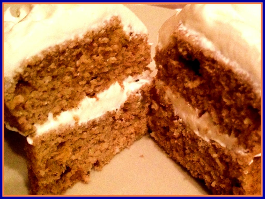 Carrot Cake Without Oven